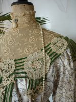 5 antique recpetion gown 1904