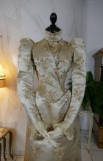 3 antique dress Maison Lipmann 1896
