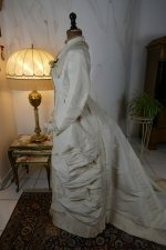 13 antique wedding dress 1878