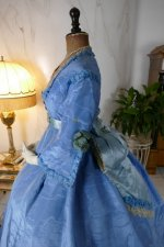 9 antique ball gown 1864