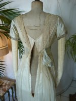 28a antique WORTH Evening Gown 1906
