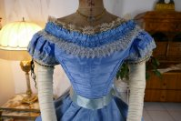 28 antique ball gown 1864