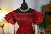 1 antique gauze dress 1828