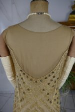 25 antique beaded flapper evening dress 1922