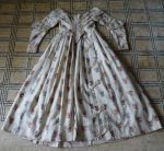 56 antique romantic period dress 1839