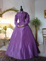 2 antique dress 1865
