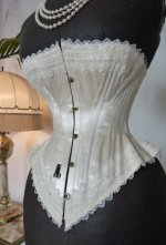 8 antique wedding corset 1880