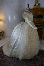 29 antique ball gown 1864