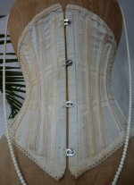 5 antique underbust corset 1900