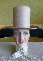2 antique top Hat 1845