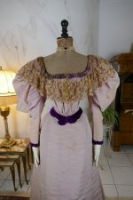 3 antique Altman ball gown 1894