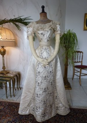 antique Ball gown 1890
