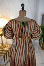 16 antique romantic Period dress 1825