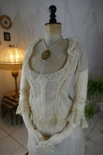 3 antique bustle lingerie 1880