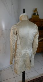 33 antique rococo wedding coat 1740