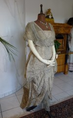 22 antique Maurice Mayer gown 1913