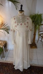 3 antique wedding dress 1910