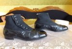 3 antique mens high button shoes