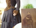 44 antique gown 1880