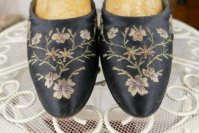 4 antique flapper shoes Berlin 1927