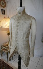 4 antique rococo wedding coat 1740