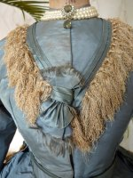 7 antique reception gown 1865