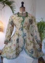 3a antique silk jacket 1750