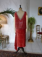 28 antique flapper dress Worth 1920