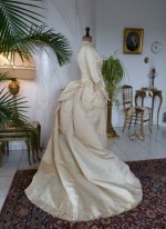 43 antique wedding gown 1874