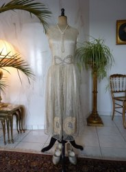 antique wedding dress 1927