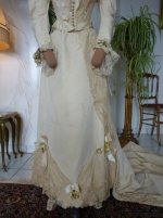 14 antique wedding Gown 1895
