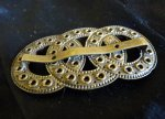 3 antique belt buckle 1900