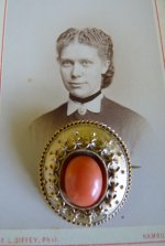 13a antique brooch 1870