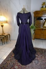 14 antique Madame Percy Visiting gown 1898