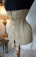 3 antique corset 1904
