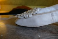 7 antique chevreau leather shoes