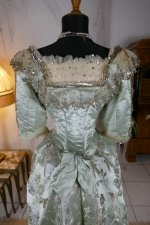 25 antique evening gown 1889