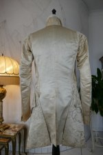 23 antique rococo wedding coat 1740