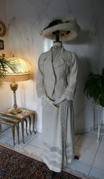 2 antique walking dress 1912