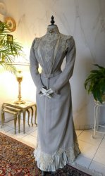 antique dress Redfern 1901
