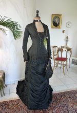 12 antique mourning dress 1879