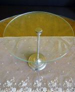1 antique glass display stand 1900