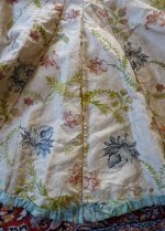 108 antique silk jacket 1750