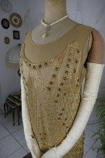 13 antique beaded flapper evening dress 1922