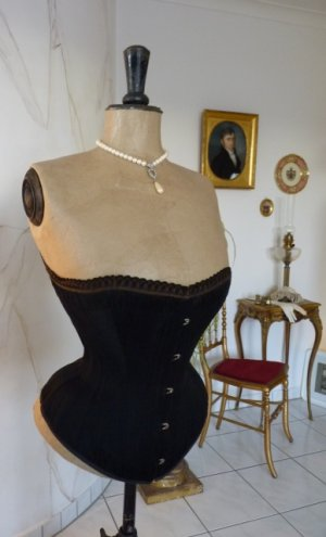 antique PD Corset 1888