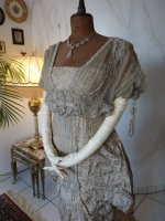 18 antique Maurice Mayer gown 1913