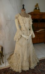 5 antique society dress 1901