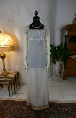 2 antique empire dress 1802