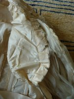 56 antique reception gown 1901