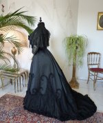 35a antique Worth evening dress 1898
